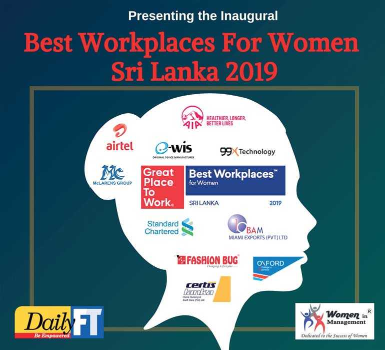 Best Workplaces for Women in Sri Lanka 2019 | Daily FT