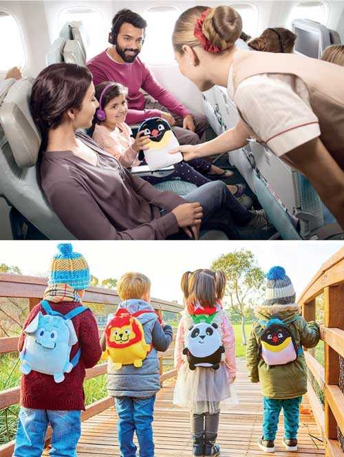 Treasure trove of on-board delights adds to kids' travel