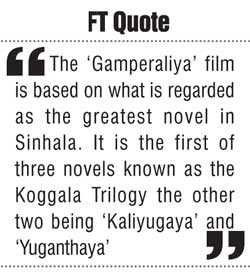 Great 'Gamperaliya': A great novel made into a great film by