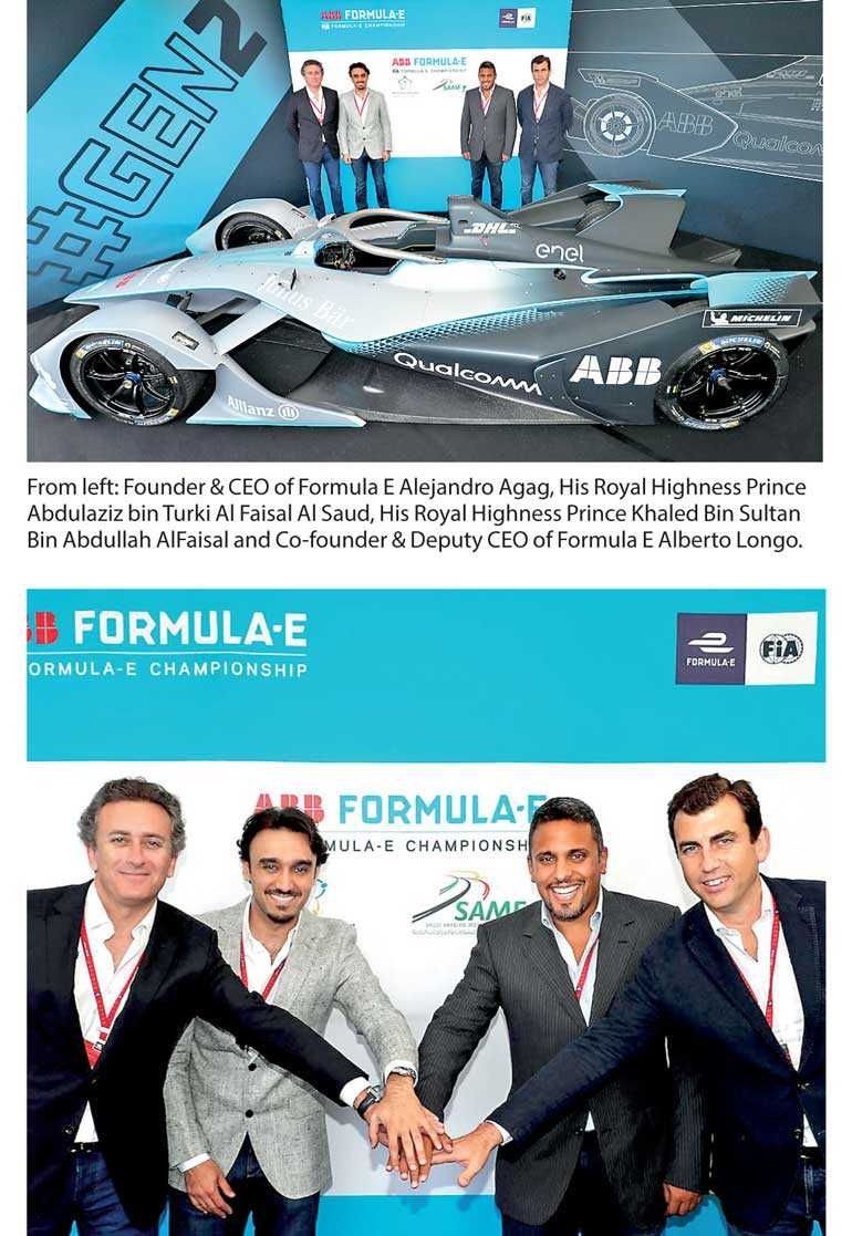 Formula E to race in Riyadh for opening round of Season Five