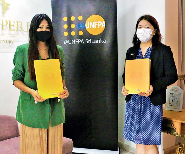 Fashion With A Cause Unfpa And Designer Amilani Perera Raise Awareness On Violence Against Women Daily Ft