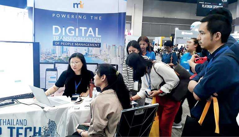 MiHCM gains strong foothold at Thailand HR TECH Expo   FT Online