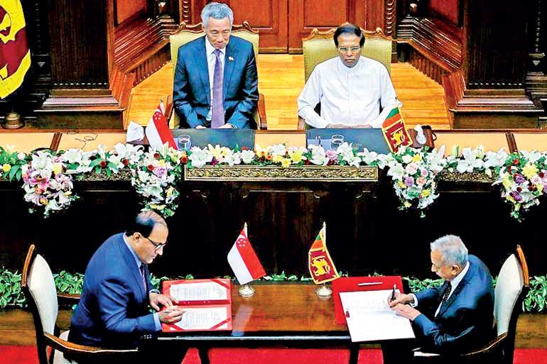 Highlights Of Sri Lanka Singapore Fta Which Makes Watershed In Sri