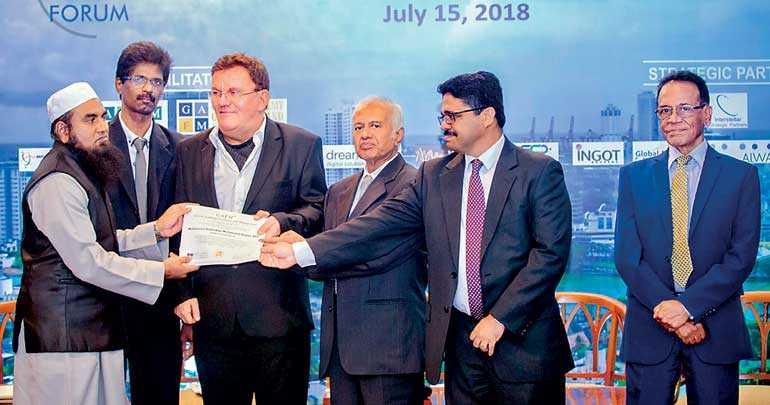 Nawaz First Islamic Finance Professional In Sl To Receive Financial