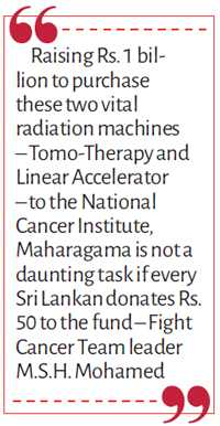 Fresh effort to provide Tomo-Therapy and Linear Accelerator