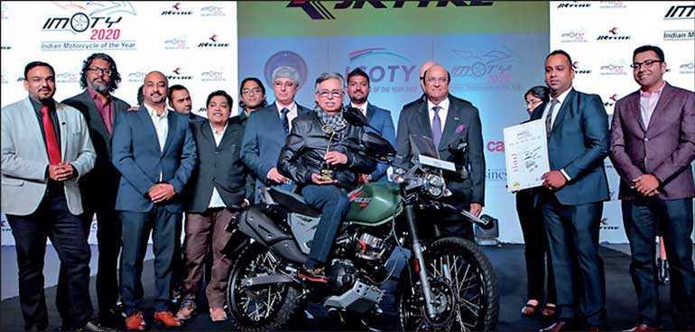 Hero Launches Imoty Award Winning Bike Xpulse 200 In Sri Lanka