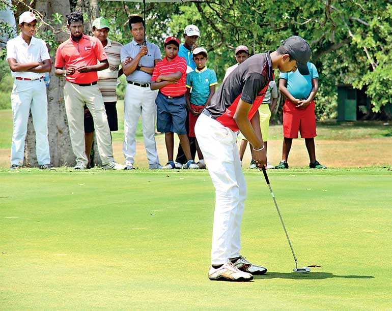 Top seeds through to Semi-Final stage in P&S Sri Lanka Junior Golf