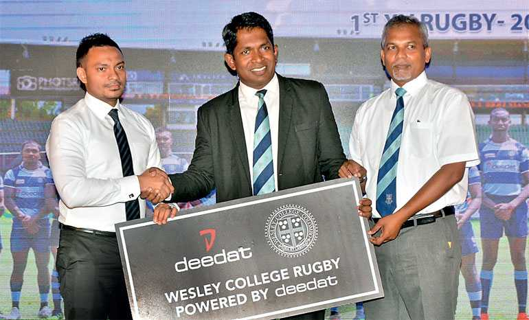 Wesley kicks off Singer Schools Rugby 2019 season in style | Daily FT