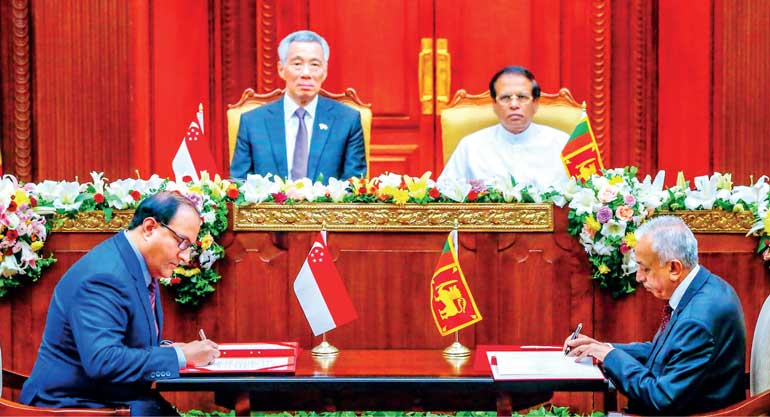 The Fta With Singapore And What It Means For Sri Lanka Ft Online