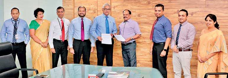 Ndb Good Life Cards Signs Mou With Nsbm Green University Town Daily Ft