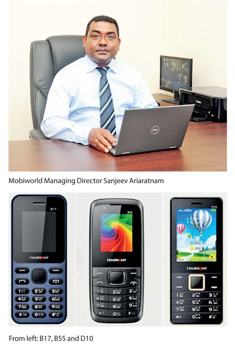 Mobiworld launches world-class Symphony mobile phones in Sri