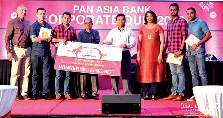 Pan Asia Bank hosts inter-branch/department quiz 2019 | Daily FT