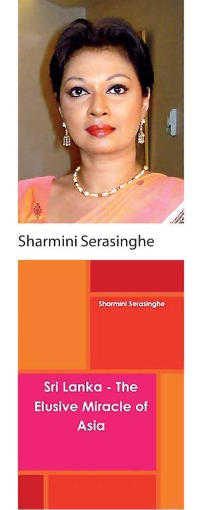 Sharmini launches her first book 'Sri Lanka – The Elusive