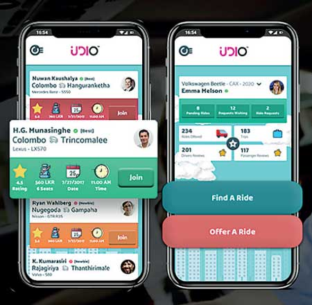 Innovative Car Pooling App Udio Goes Live Daily Ft