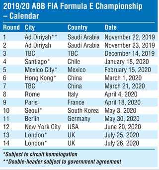 London and Seoul new additions on season six calendar of ABB