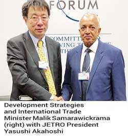 Malik meets JETRO Chief to boost SL-Japan business ties