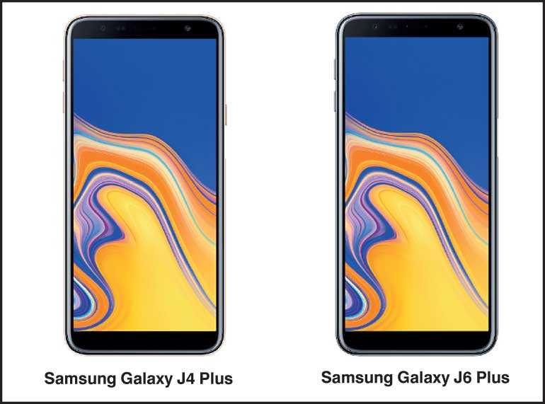 Samsung launches Galaxy J6+ and J4+ in Sri Lanka | Daily FT