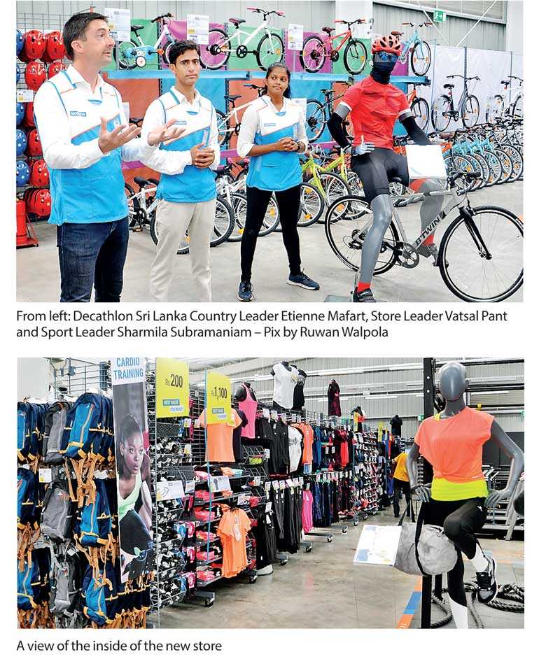Decathlon Opens First Store In Sl Tomorrow Ft Online