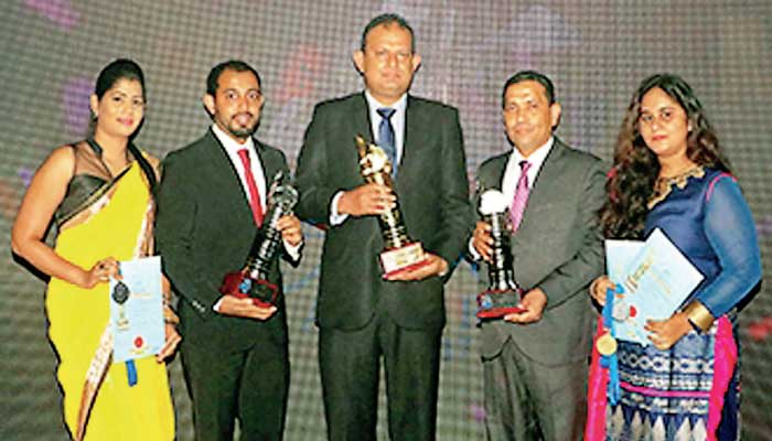 Enrich Tea and Food Exports wins NCE Gold Award and 2 Silver Awards