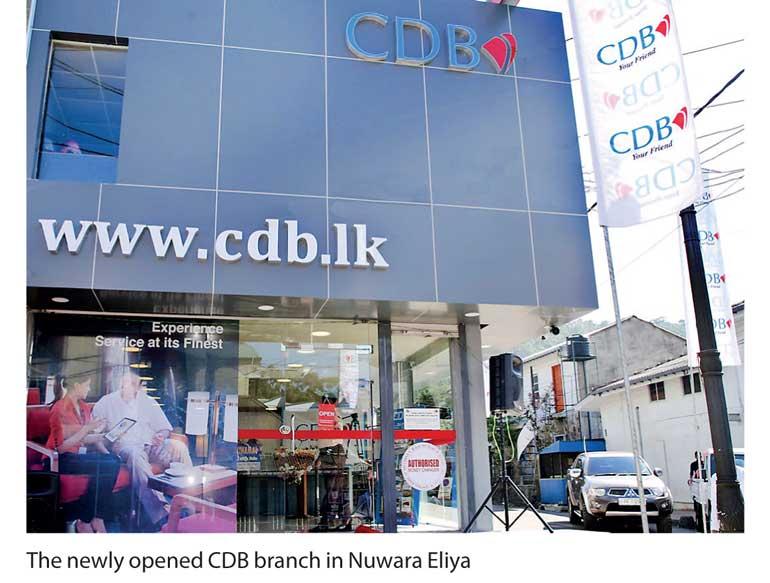 CDB expands network to Nuwara Eliya | Daily FT