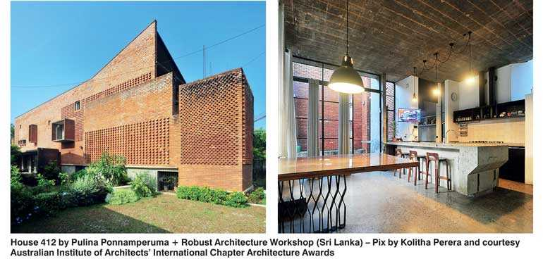 sri lankan house wins at australian institute of architects 2018