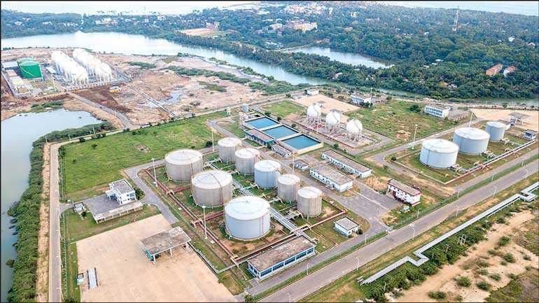 Sinopec wins bid to operate tank farm at Hambantota Port