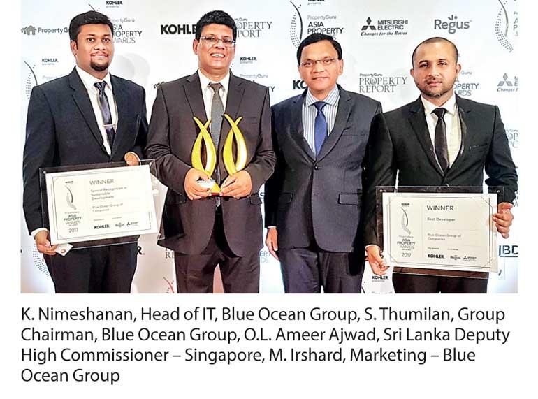 Blue Ocean Group of Companies crowned as Sri Lanka's Best