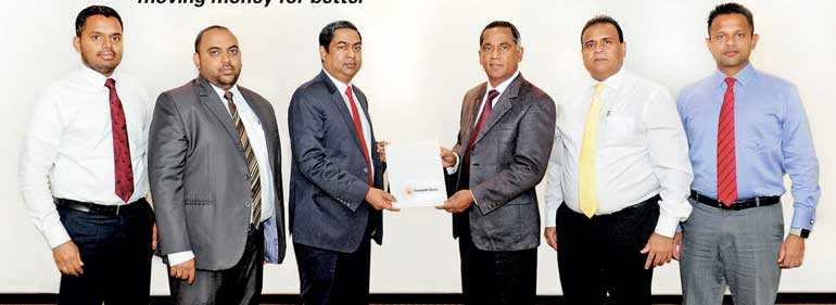 Western Union and Sampath Bank now offer international money