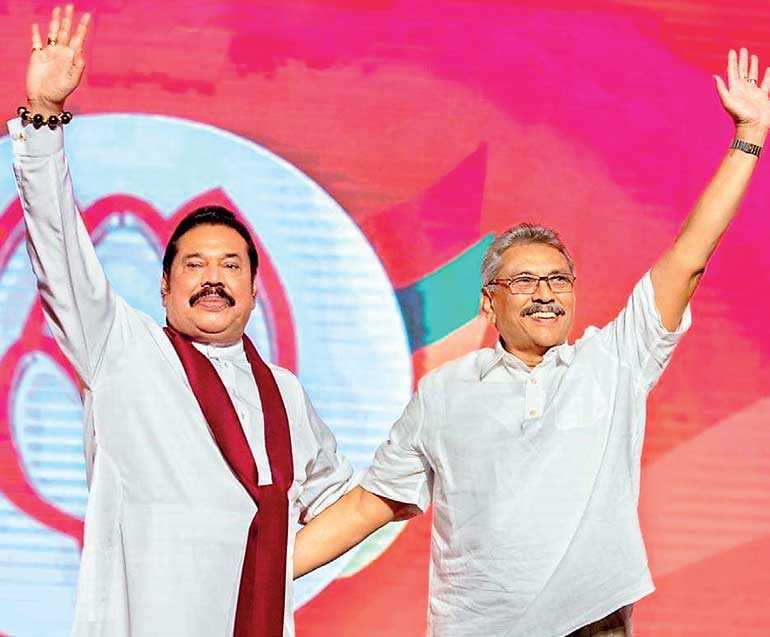Mahinda Rajapaksa sworn in as Sri Lanka's Prime Minister for 4th time
