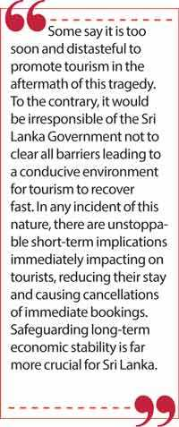 Sri Lanka tourism a success story: No tourism, no economy? | Daily FT