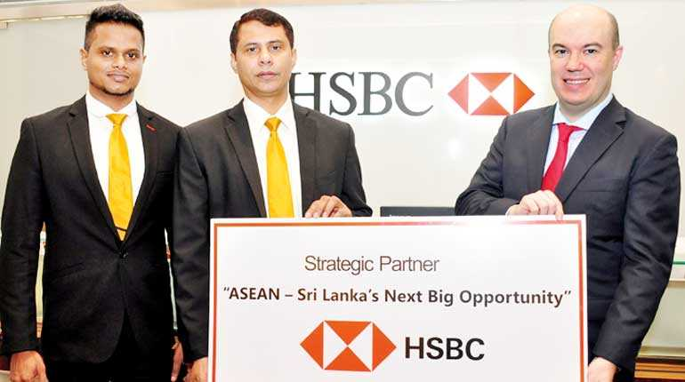 "HSBC powers key ""ASEAN: Sri Lanka's Next Big Opportunity"
