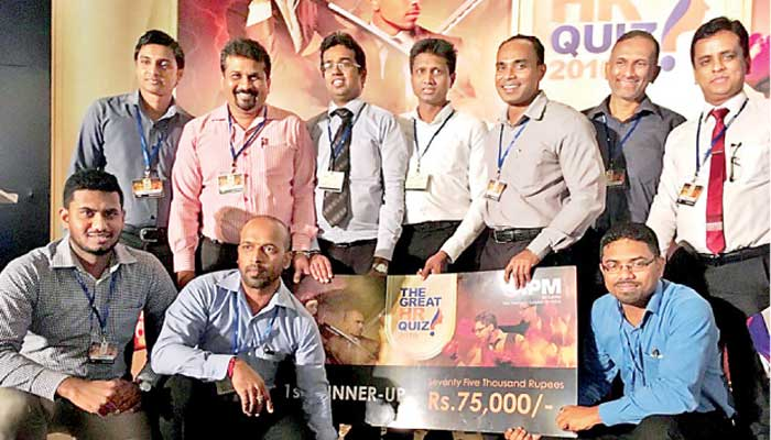 Omega Line Overall Runner Up In Great Hr Quiz 2016 Secures 1st Place In Apparels And Clothing