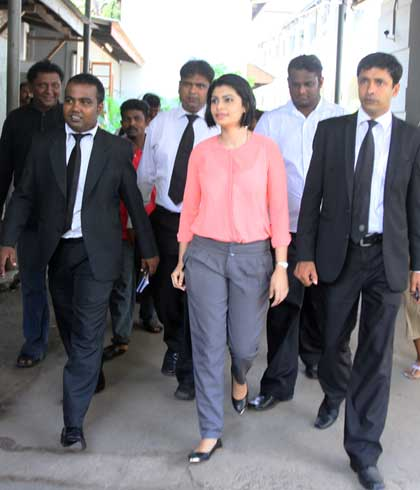 Hirunika advised to dress properly | FT Online