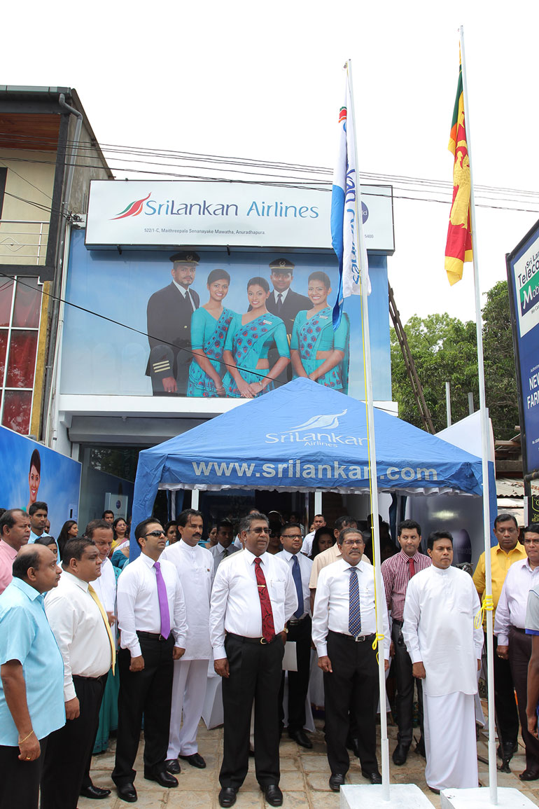 Srilankan airlines opens ticketing office in anuradhapura ft online - Srilankan airlines office ...