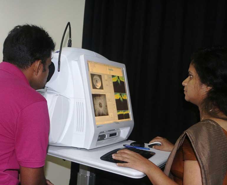 computer eye testing
