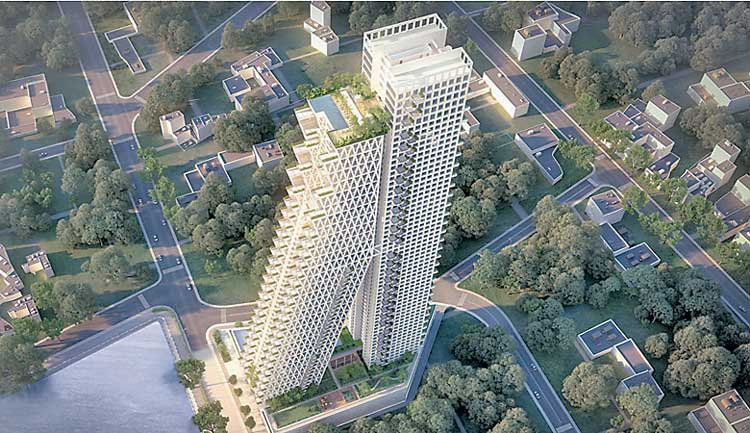 Altair designer moshe safdie receives america s highest architectural honour ft online for Construction piscine geneve