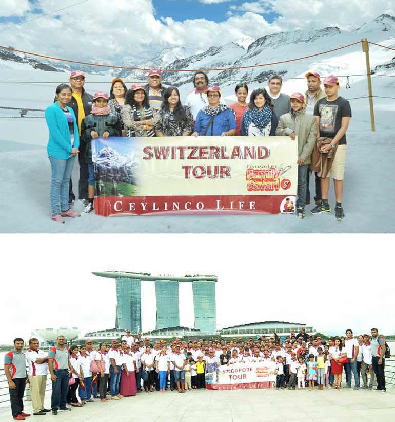 Ceylinco Life policyholders tour Switzerland, Singapore :::DailyFT ...
