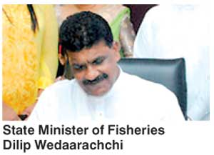 Dilip Wedaarachchi State Fisheries Minister Dilip checkmates Mahinda FT Online