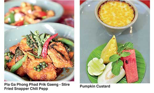 Cinnamon lakeside s royal thai offers top thai dining for Aroma royal thai cuisine