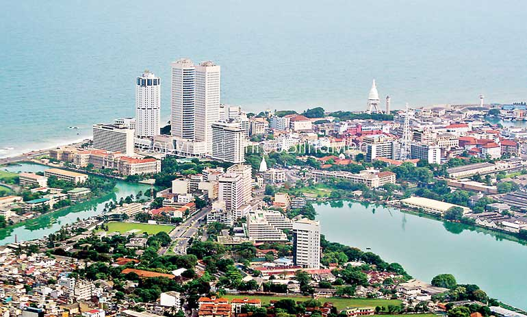 Sri Lanka. The City of Colombo.