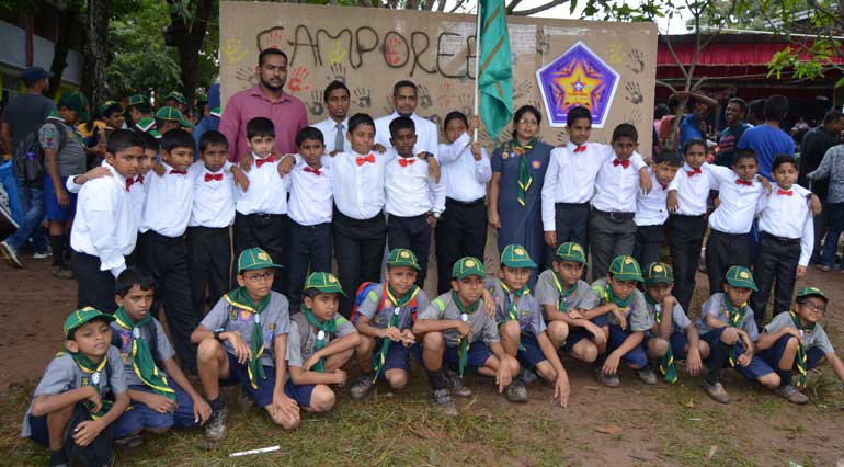 Amal International School Cub Scouts participate in 50th Colombo