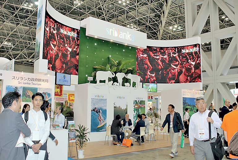 Exhibition Stall Builders In Sri Lanka : Sri lanka rides the wave at japan tourism expo ft