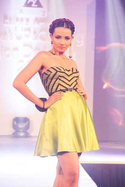 Zainab Ammarah S Up And Coming Fashion Designer 2015 Unveils For 7th Year Daily Ft