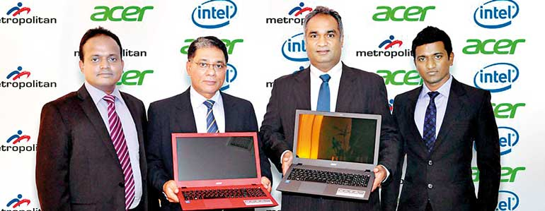 Acer and Metropolitan, first to launch 6th Generation Intel Core
