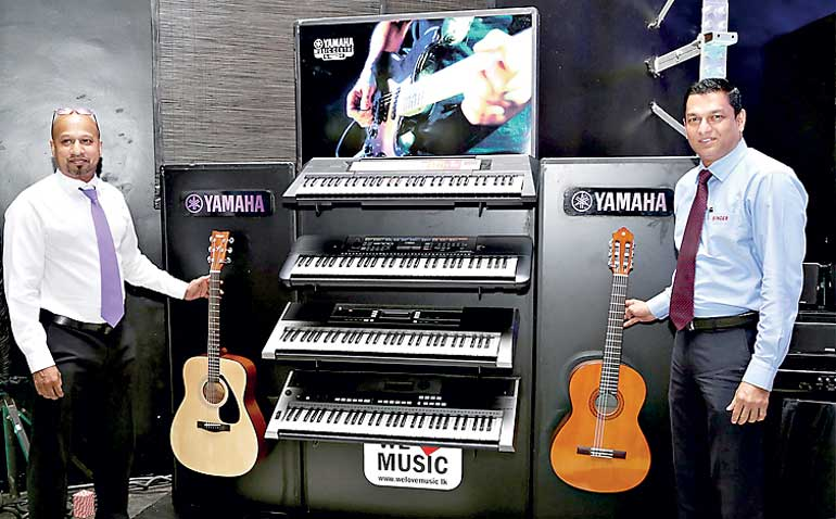 Yamaha Music Centre and Singer in retail collaboration