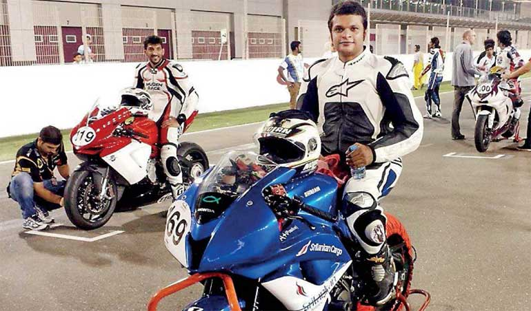 Shrian Samuel to compete at Qatar Asian Super Sport Racing Championship