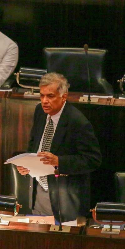 Ranil-in-Parliament