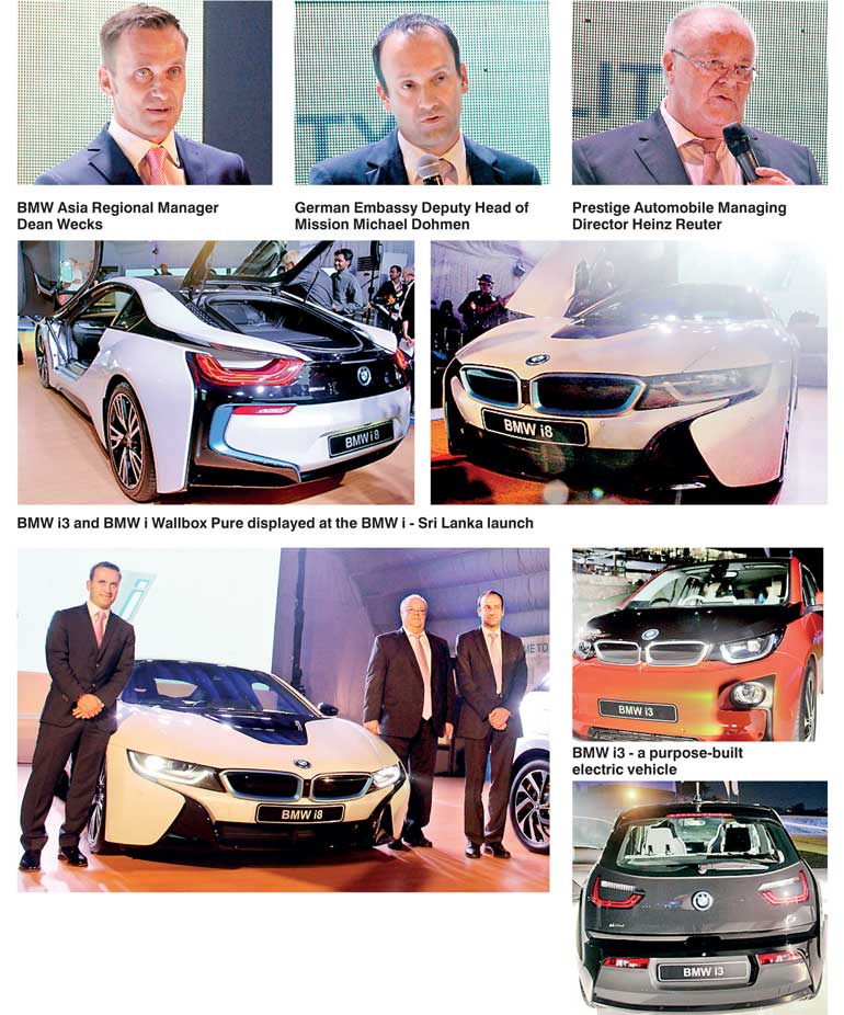 Bmw I3 Bmw I8 Debut In Sri Lanka Ft Online