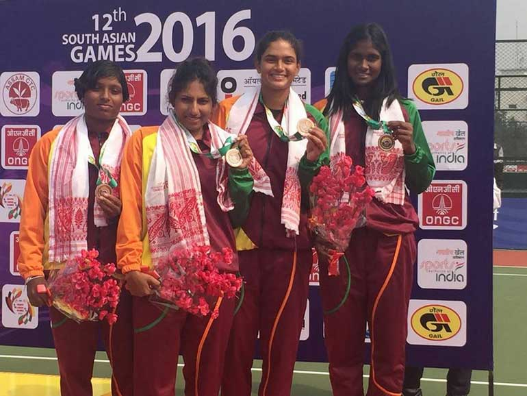 Sri Lanka Tennis win eight medals at South Asian Games