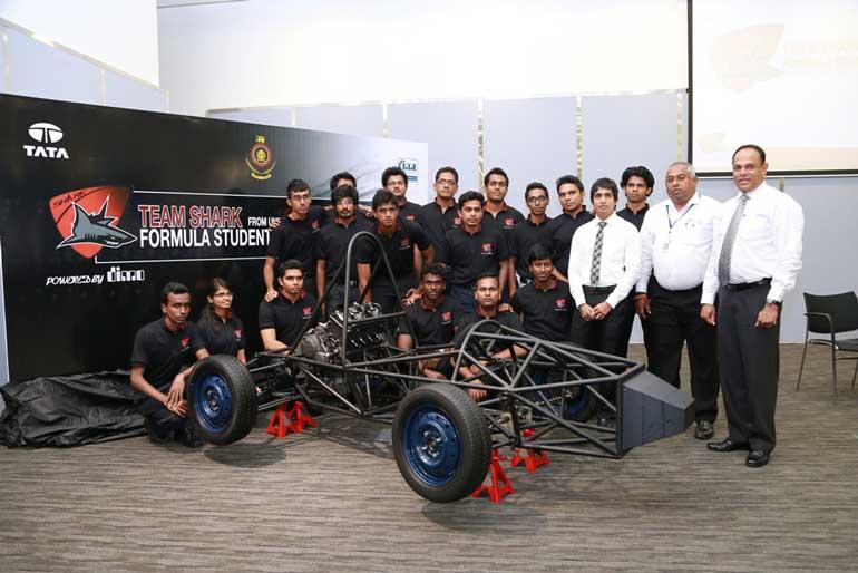 Dimo powers university of moratuwa students at formula for Internship for mechanical engineering students in tata motors